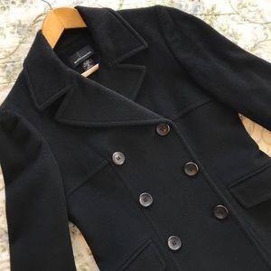 Moda International Black Peacoat XS
